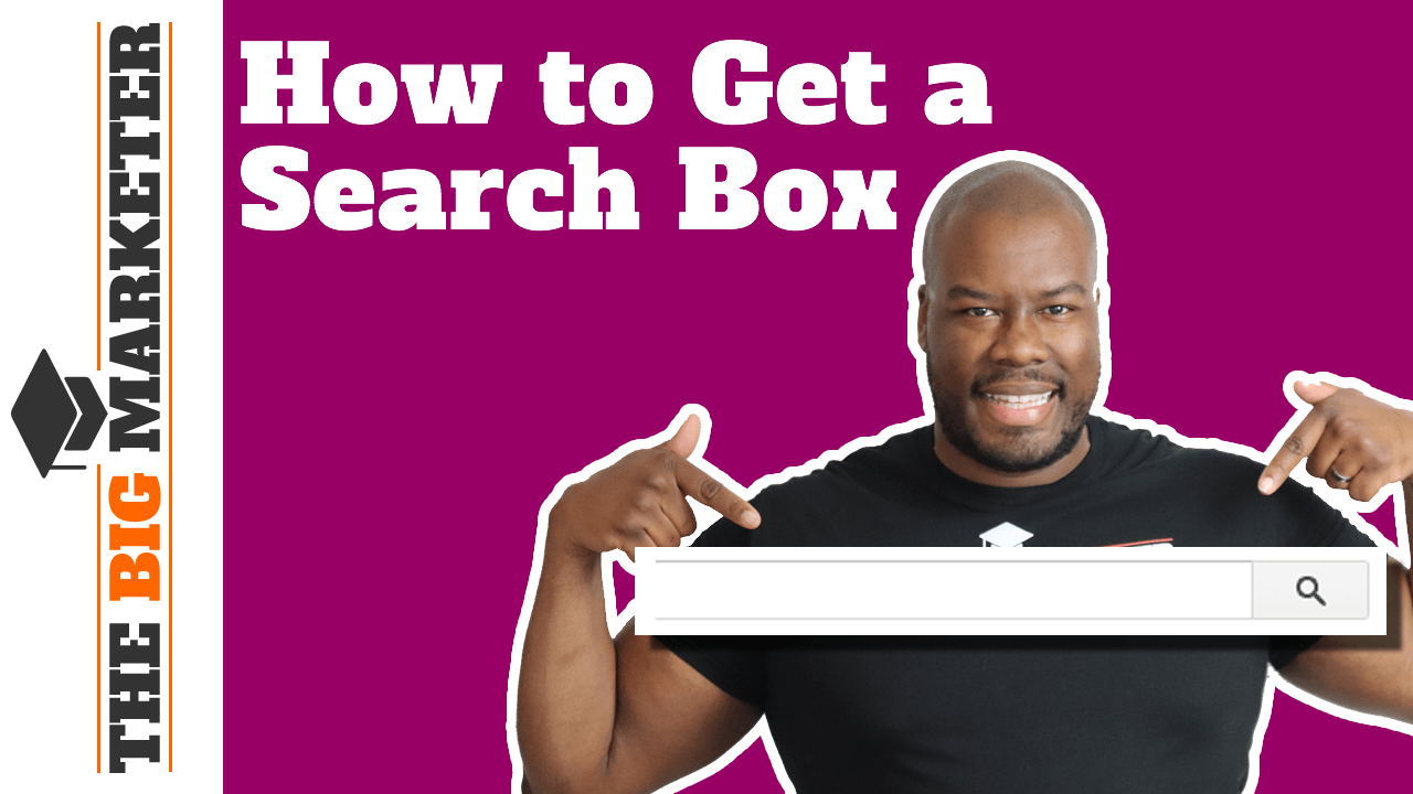 How to get a Search Box in Google Search Results Page